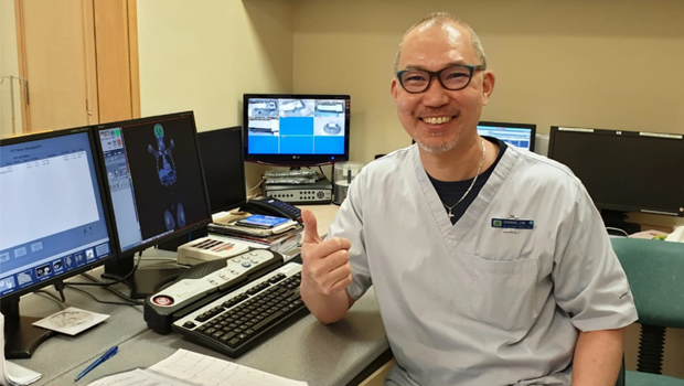 Hooked on radioactives - National Cancer Centre Singapore