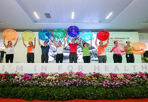 Sengkang General Hospital Campus Official Opening