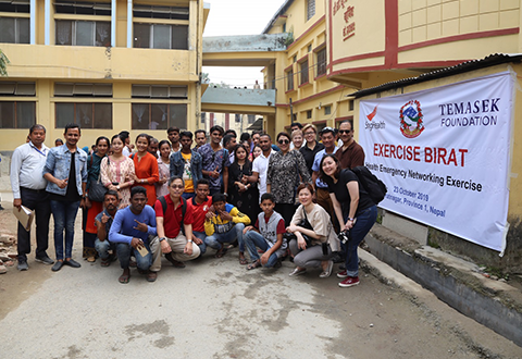Three year post-disaster recovery programme in Nepal comes to a successful close