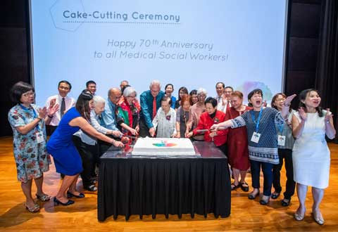 Celebrating 70 years of Medical Social Service in Singapore